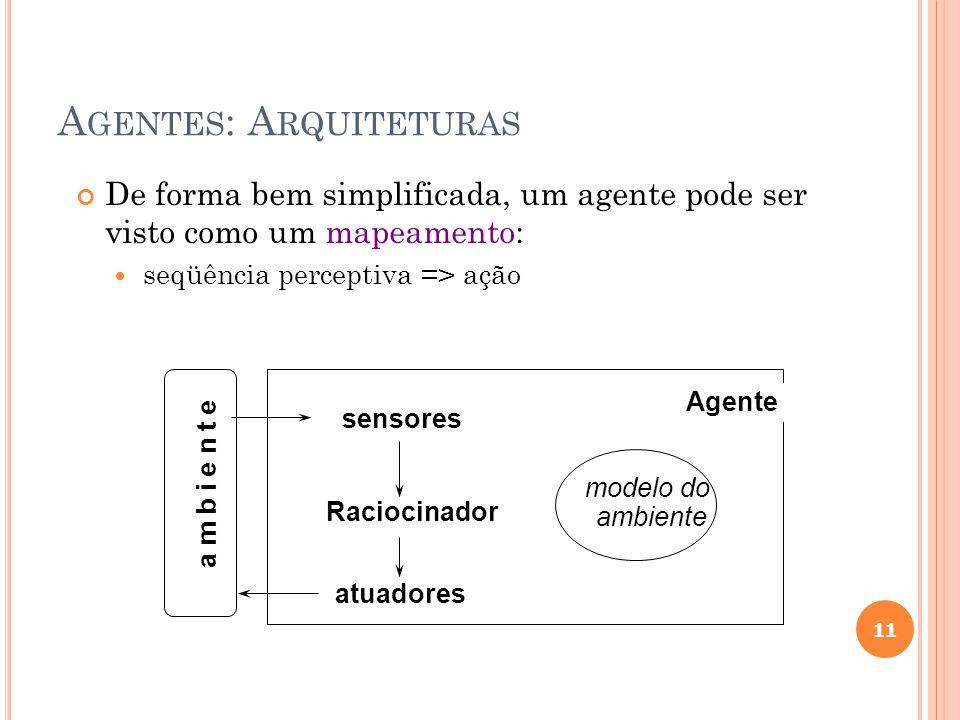 Agentes: Arquiteturas