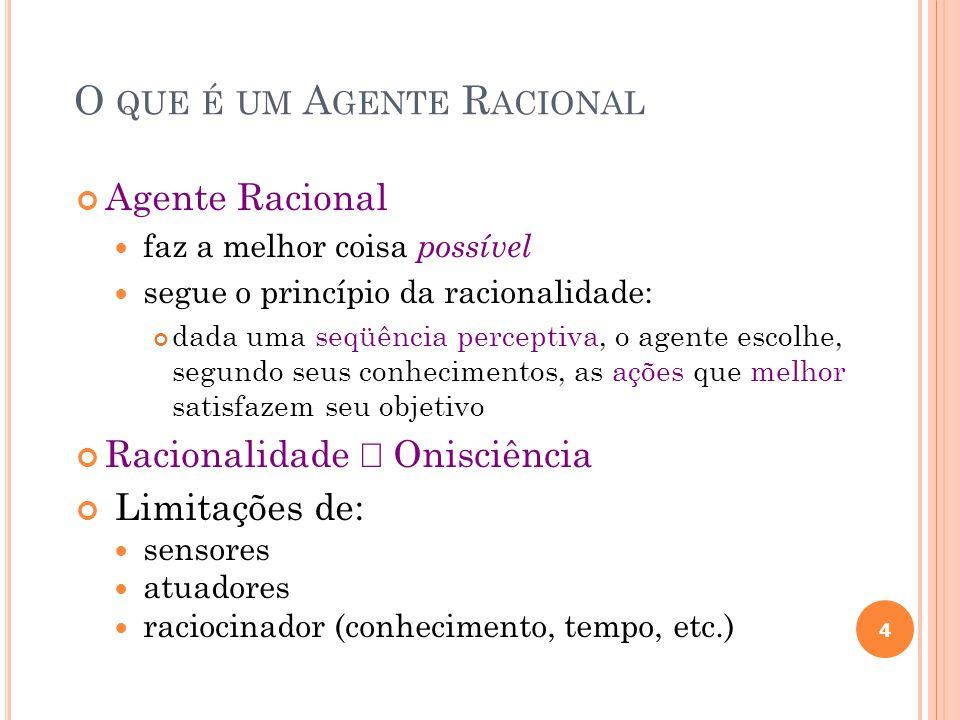 O que é um Agente Racional