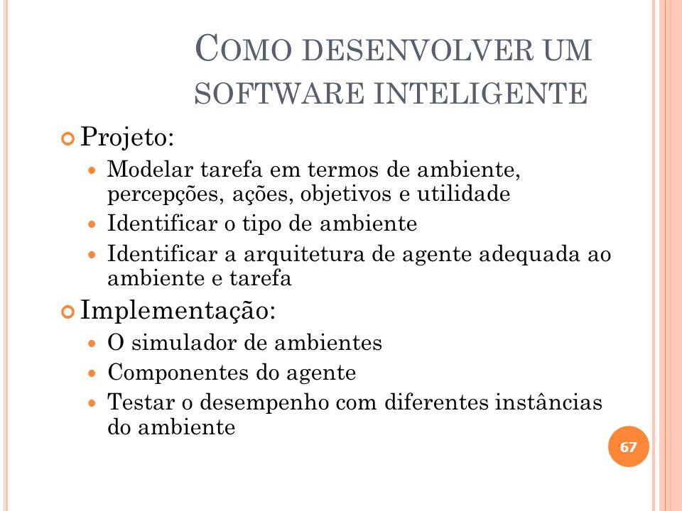 Como desenvolver um software inteligente