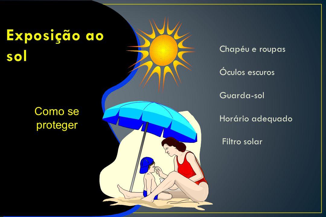 Exposição ao sol Como se proteger