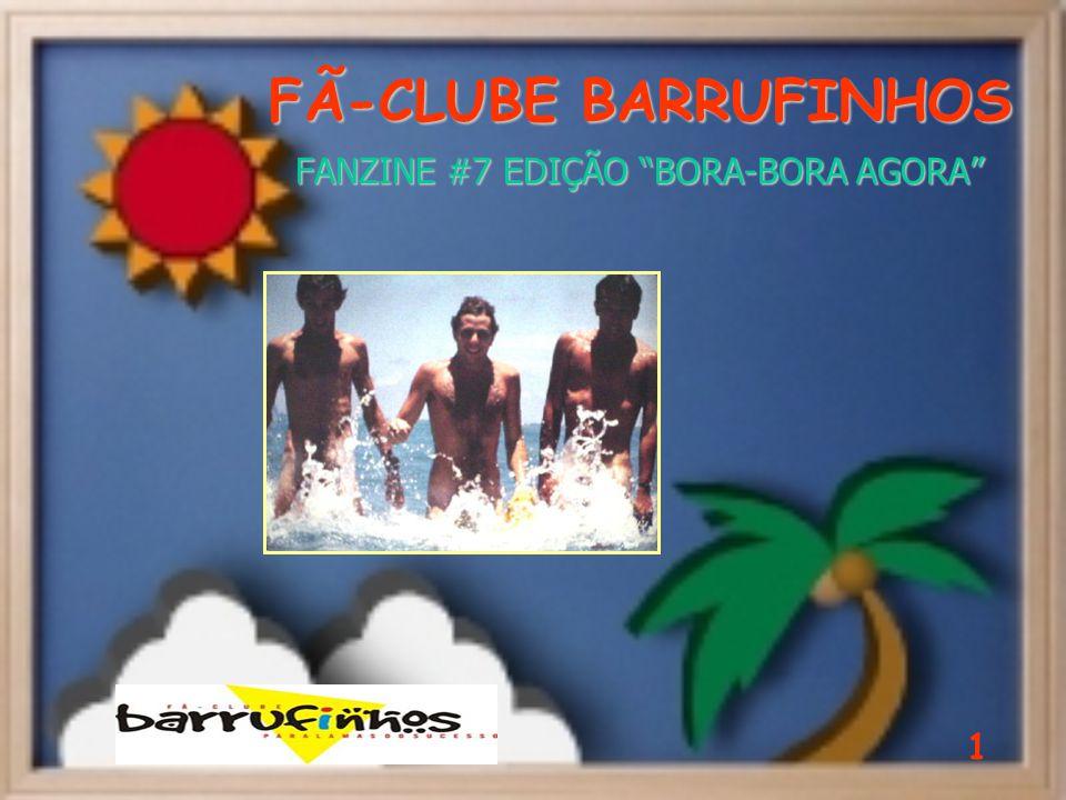 FÃ-CLUBE BARRUFINHOS FANZINE #7 EDIÇÃO BORA-BORA AGORA