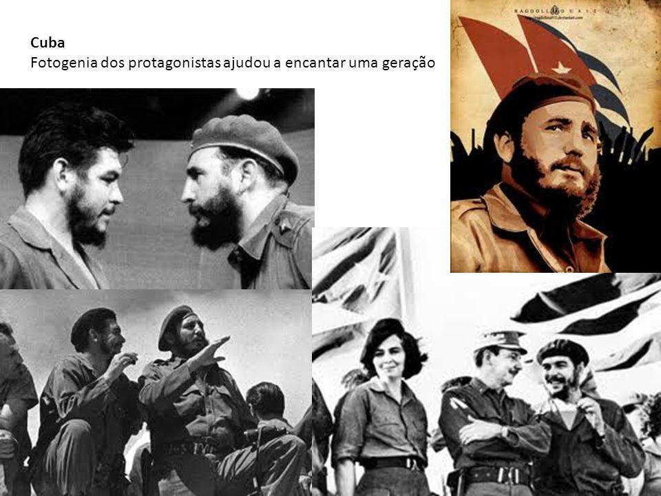 Cuba Fotogenia dos protagonistas ajudou a encantar uma geração