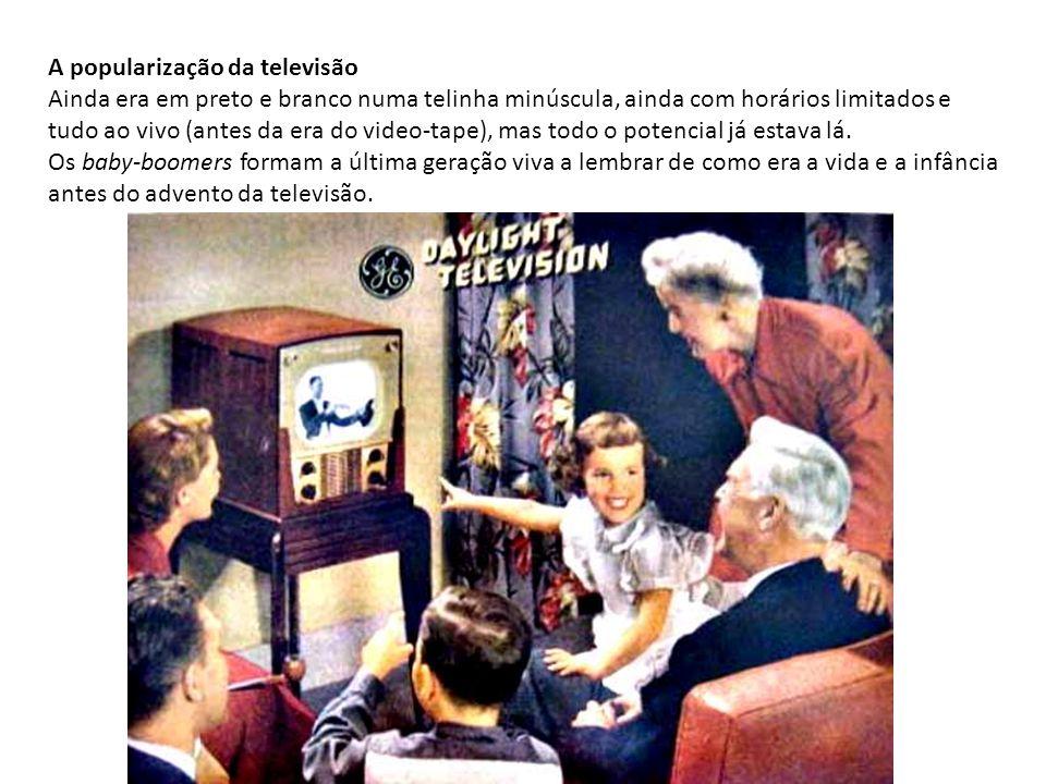 A popularização da televisão