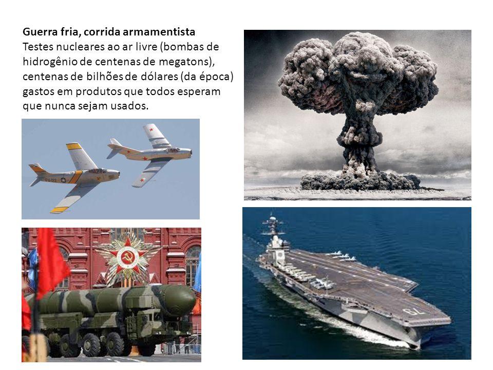 Guerra fria, corrida armamentista