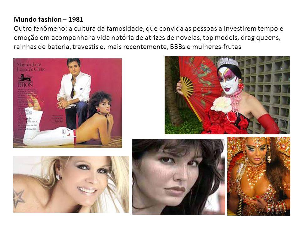 Mundo fashion – 1981