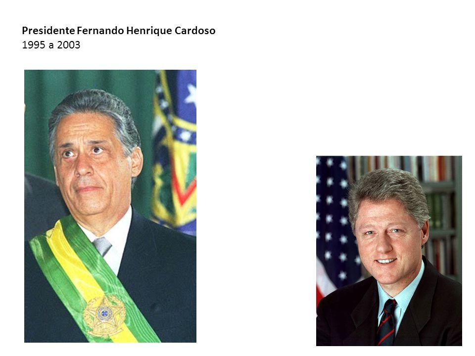 Presidente Fernando Henrique Cardoso