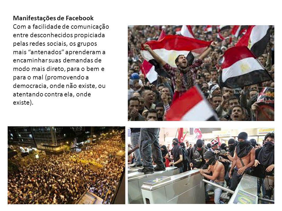 Manifestações de Facebook