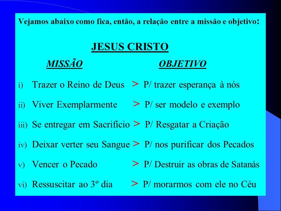 Trazer o Reino de Deus > P/ trazer esperança à nós