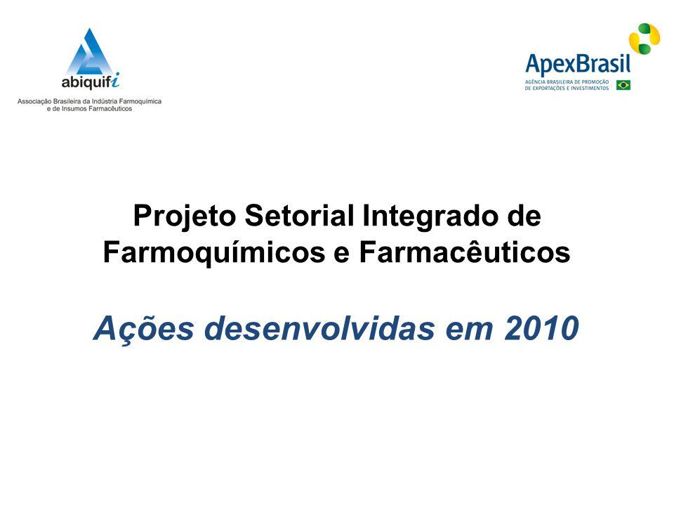Projeto Setorial Integrado de Farmoquímicos e Farmacêuticos