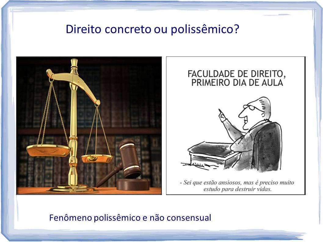 Direito concreto ou polissêmico