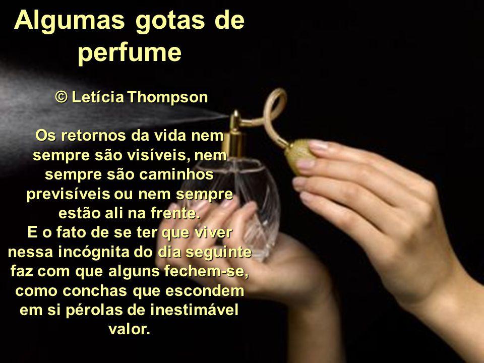 Algumas gotas de perfume