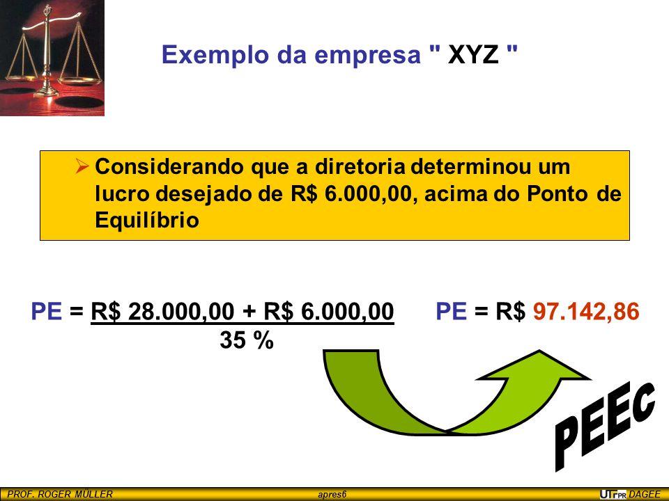 PEEc Exemplo da empresa XYZ