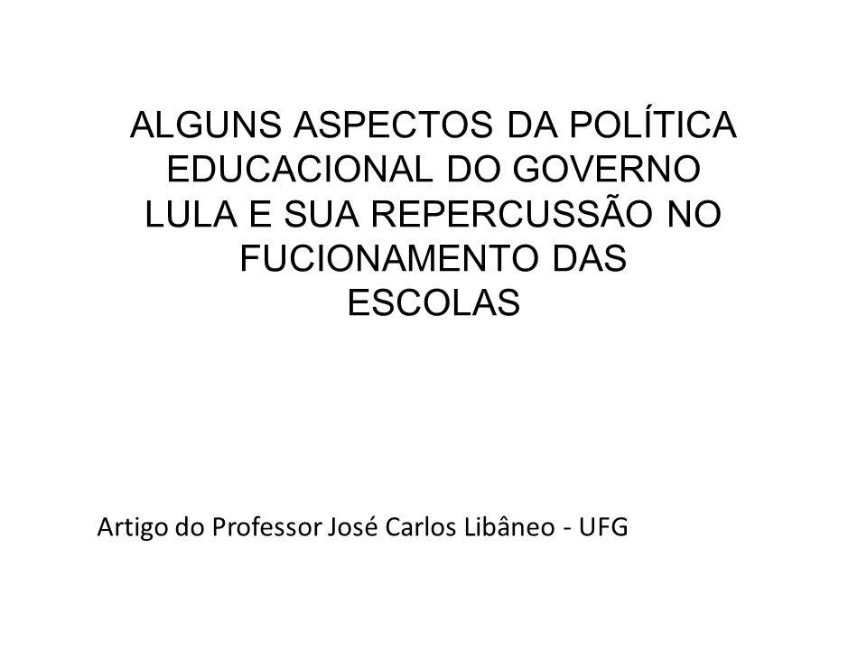 Artigo do Professor José Carlos Libâneo - UFG