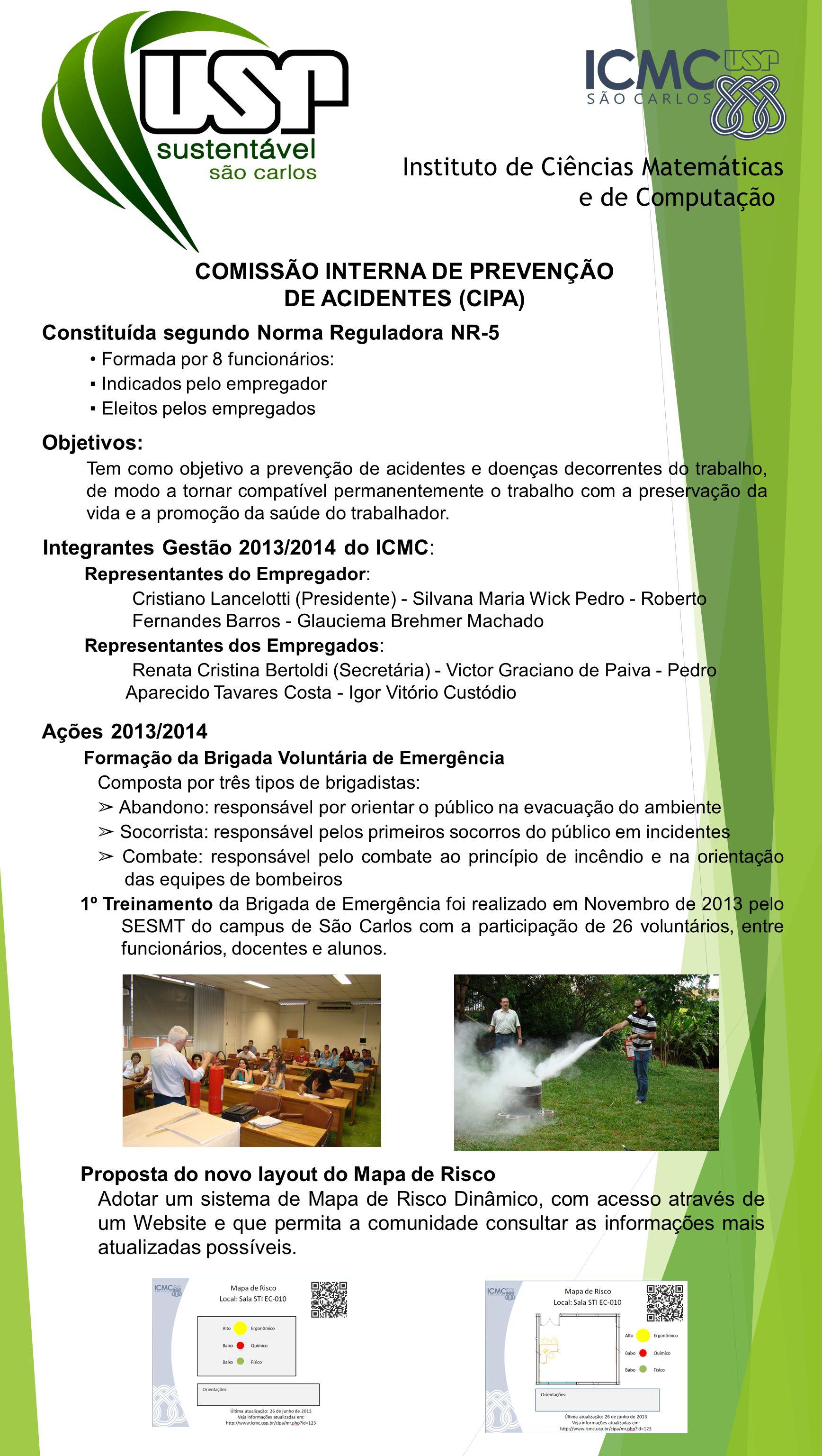 COMISSÃO INTERNA DE PREVENÇÃO DE ACIDENTES (CIPA)