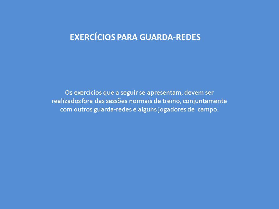 EXERCÍCIOS PARA GUARDA-REDES