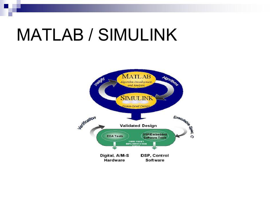 MATLAB / SIMULINK