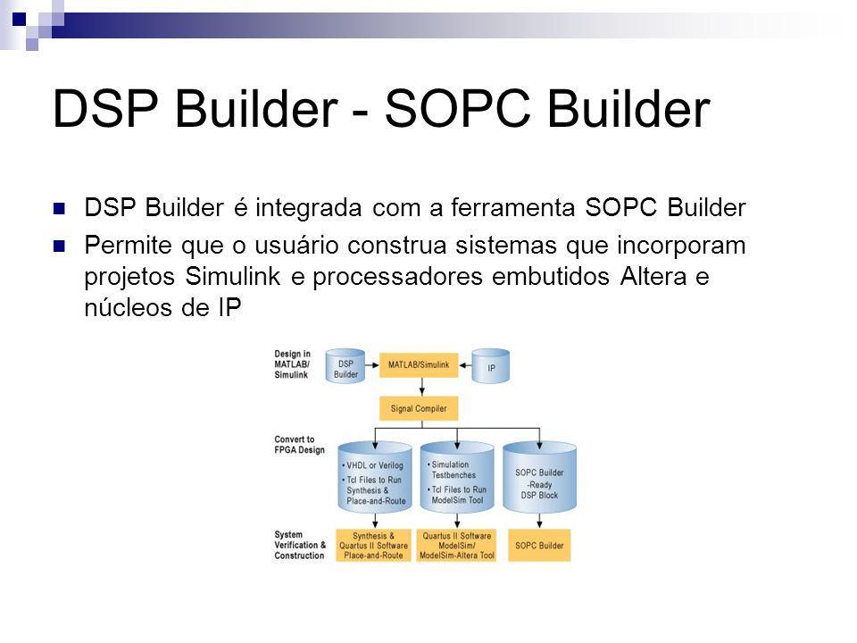 DSP Builder - SOPC Builder