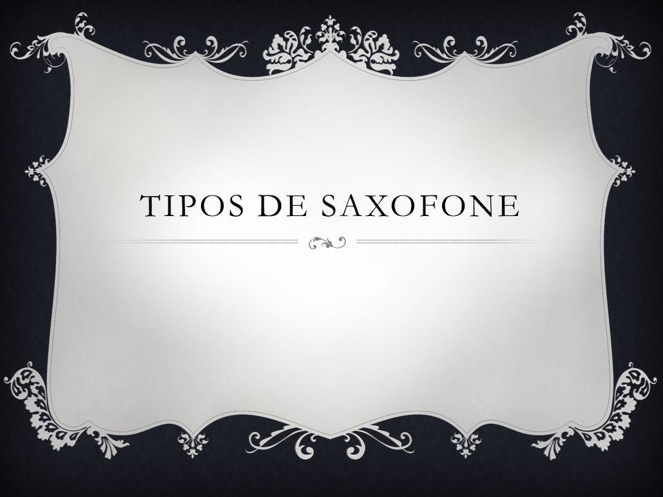 Tipos de saxofone