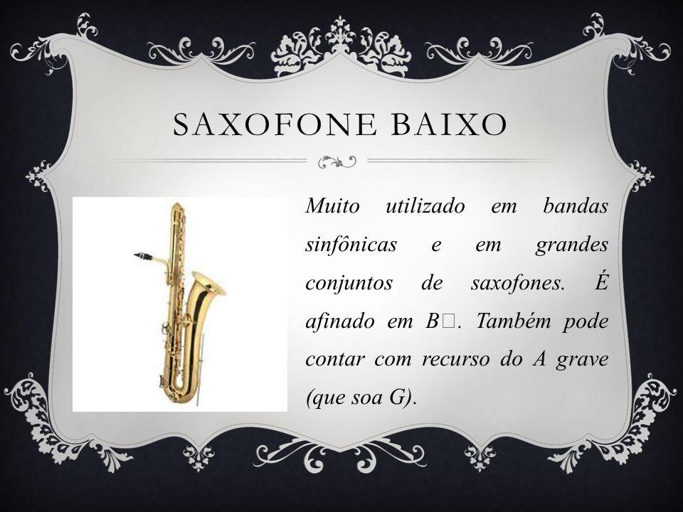 Saxofone Baixo
