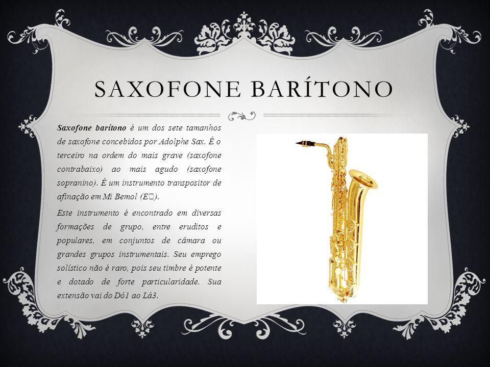 Saxofone Barítono