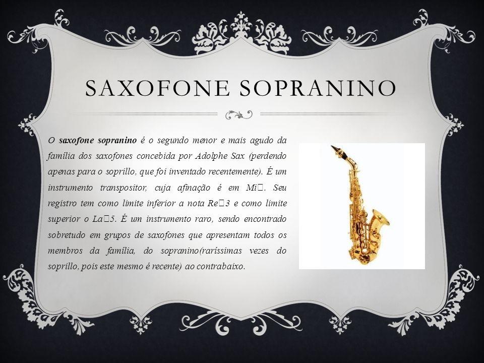 Saxofone Sopranino