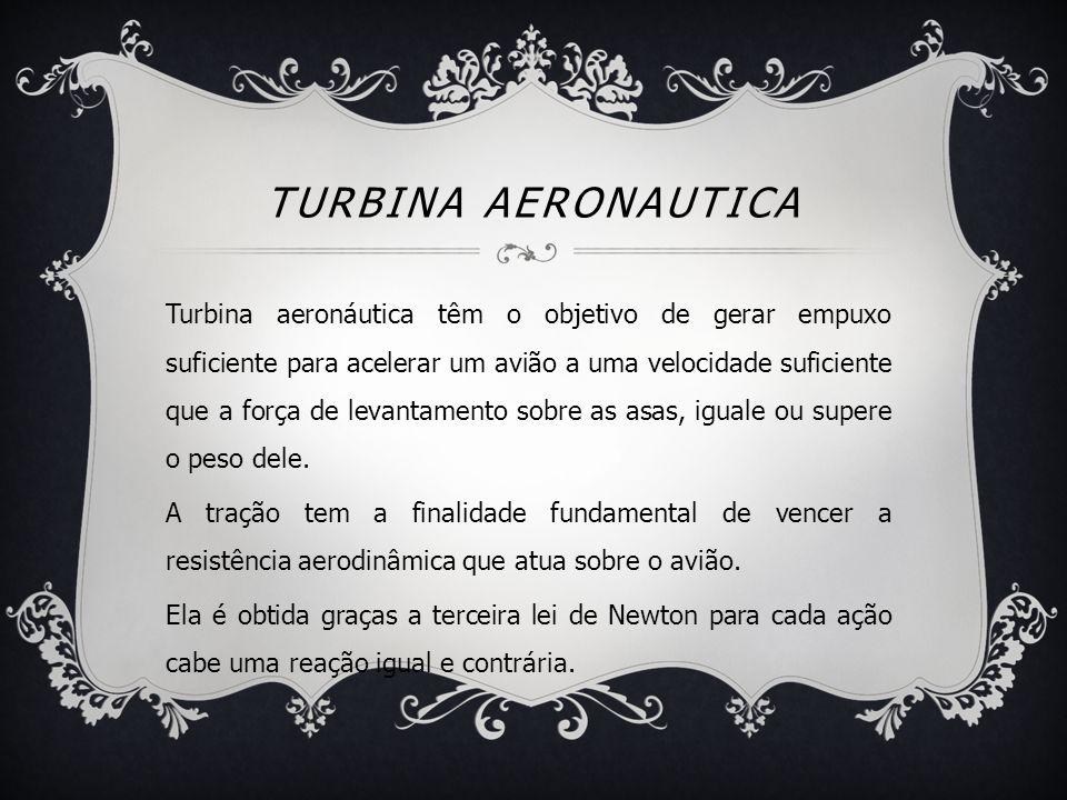 Turbina aeronautica