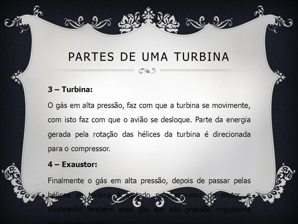 Partes de uma turbina 3 – Turbina: