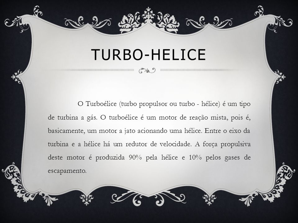 Turbo-helice
