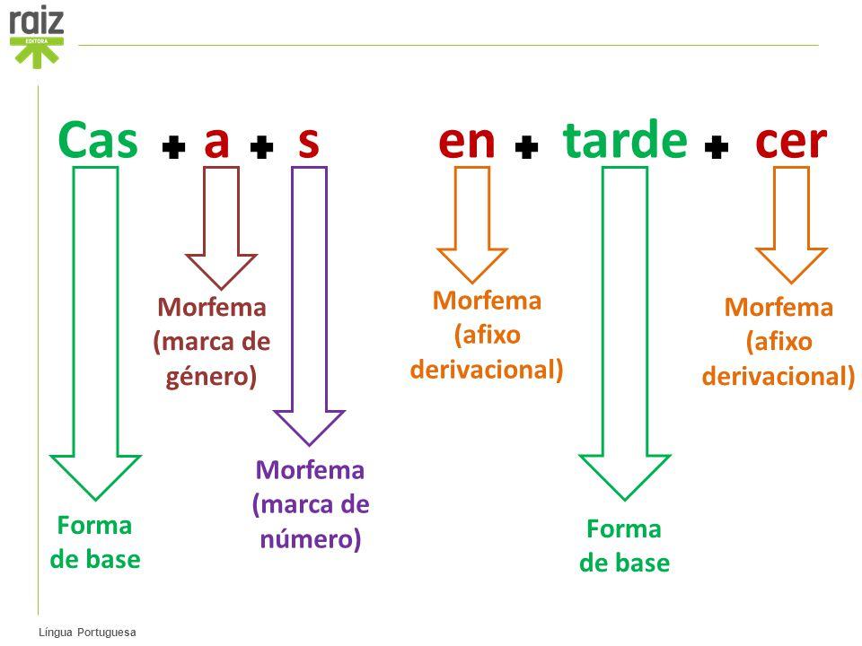 Morfema (afixo derivacional) Morfema (afixo derivacional)
