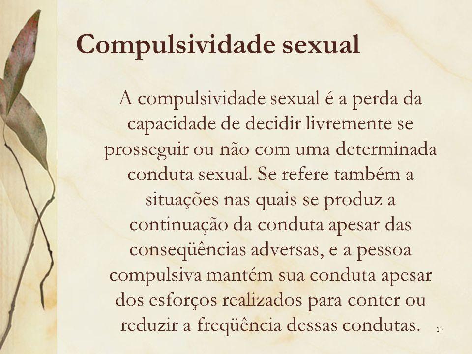Compulsividade sexual