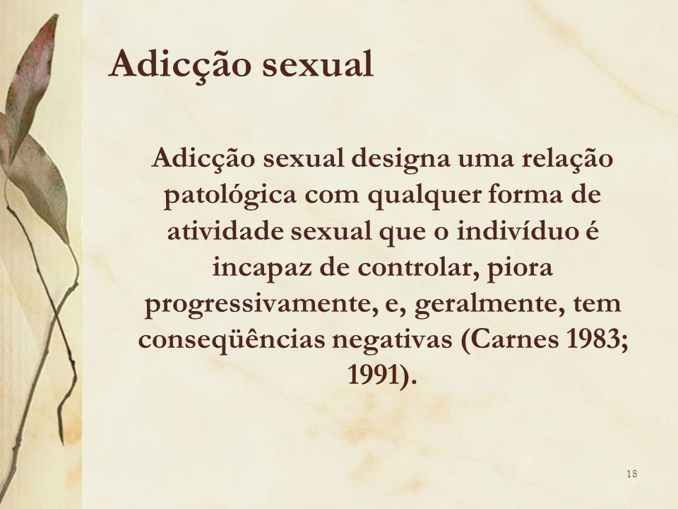 Adicção sexual