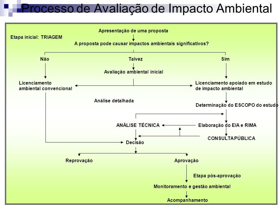 Processo de Avaliação de Impacto Ambiental