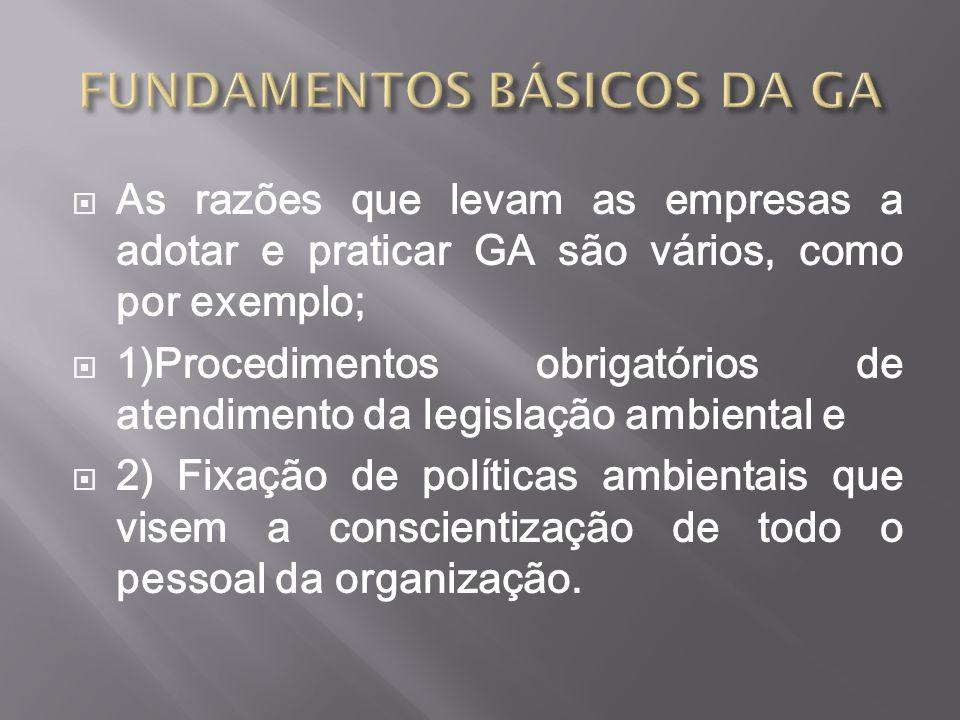 FUNDAMENTOS BÁSICOS DA GA