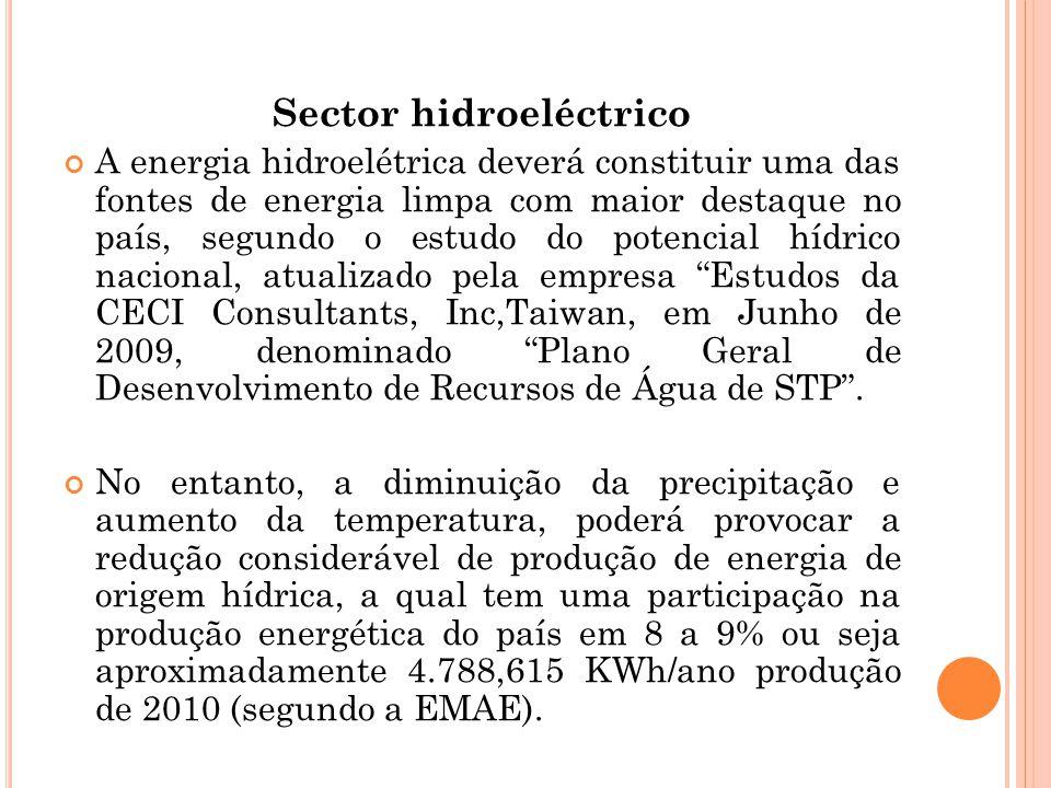Sector hidroeléctrico