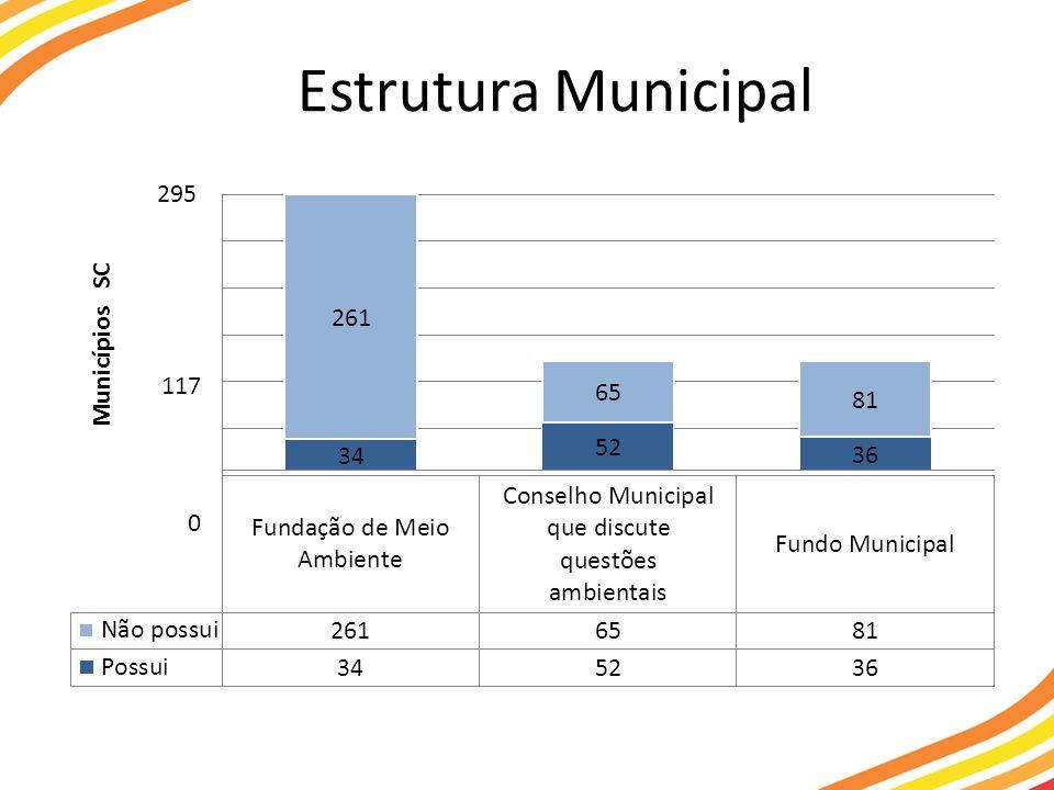 Estrutura Municipal
