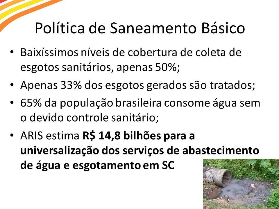 Política de Saneamento Básico