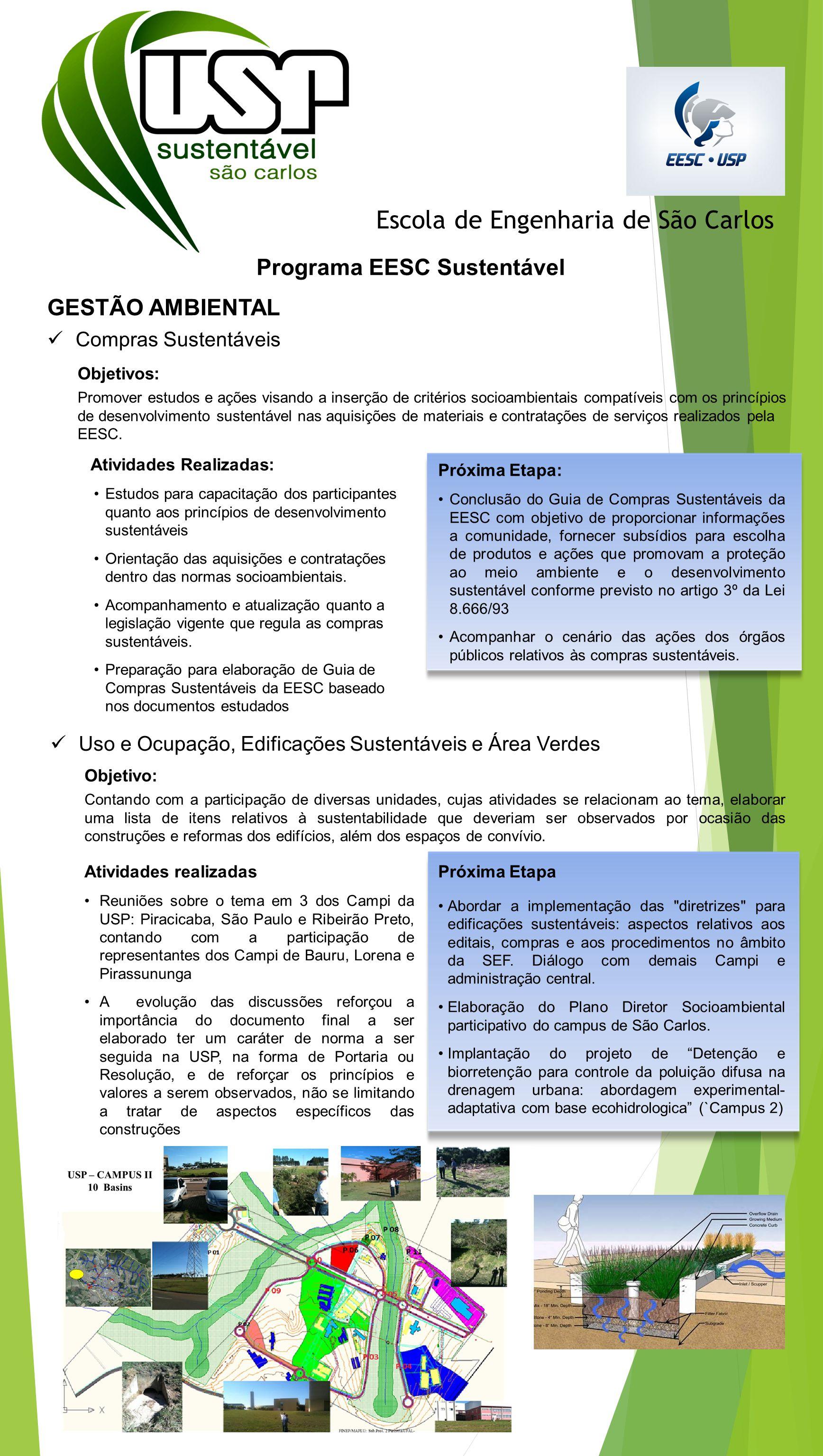 Programa EESC Sustentável