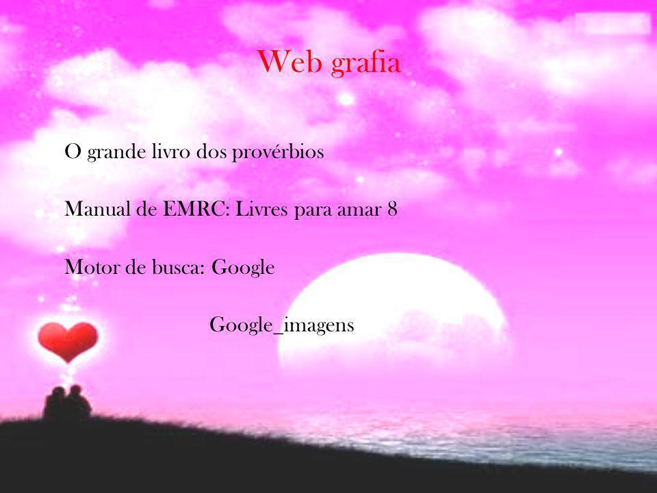 Web grafia O grande livro dos provérbios