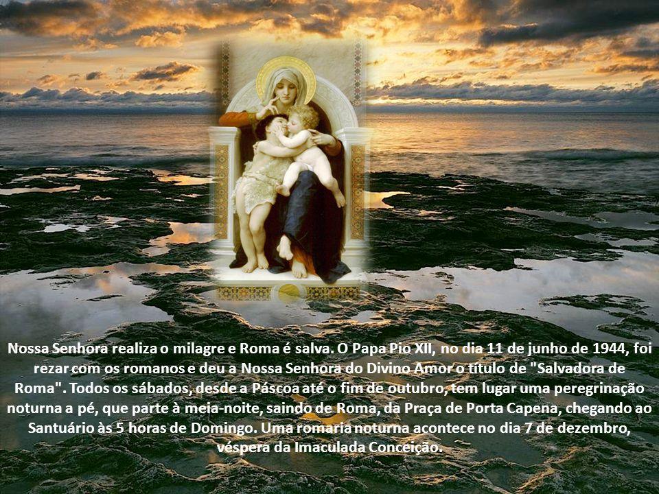Nossa Senhora realiza o milagre e Roma é salva