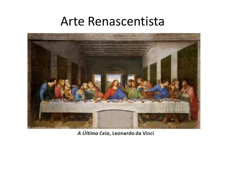 Arte Renascentista A Última Ceia, Leonardo da Vinci