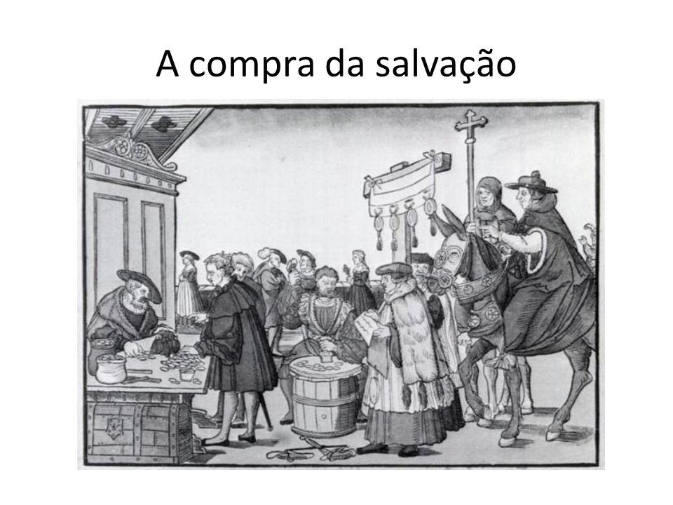 A compra da salvação