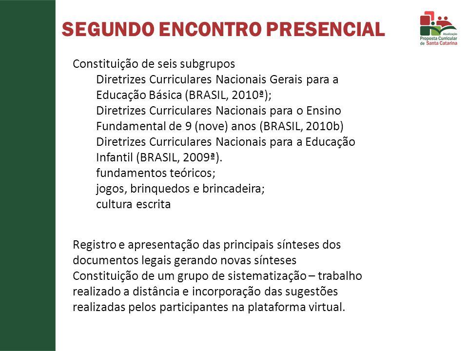 SEGUNDO ENCONTRO PRESENCIAL