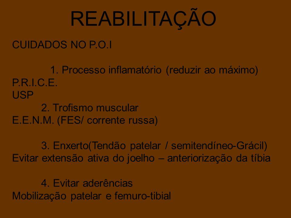REABILITAÇÃO CUIDADOS NO P.O.I