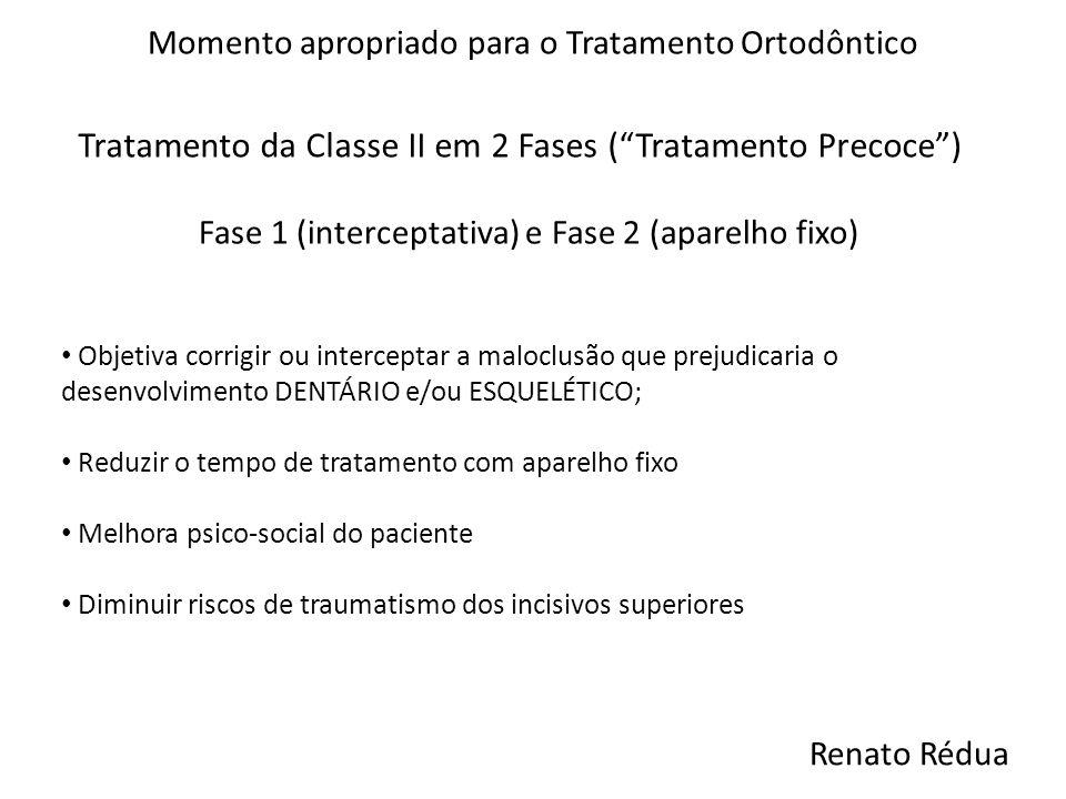 Tratamento da Classe II em 2 Fases ( Tratamento Precoce )