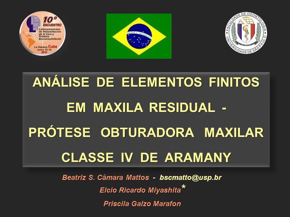 ANÁLISE DE ELEMENTOS FINITOS EM MAXILA RESIDUAL -