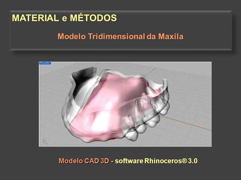Modelo Tridimensional da Maxila