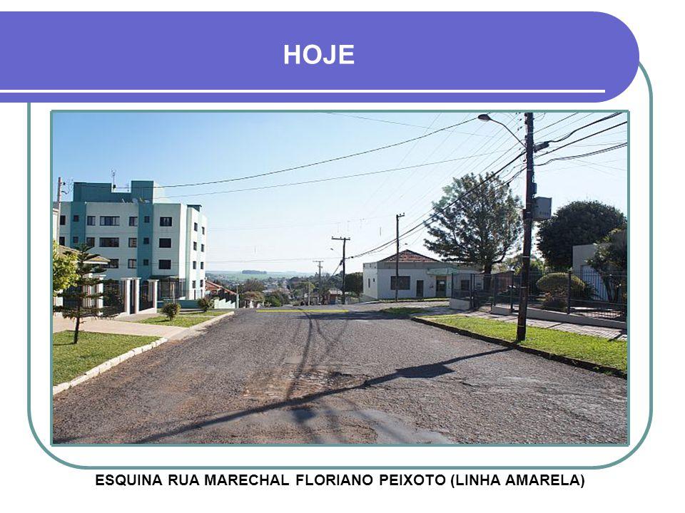 ESQUINA RUA MARECHAL FLORIANO PEIXOTO (LINHA AMARELA)