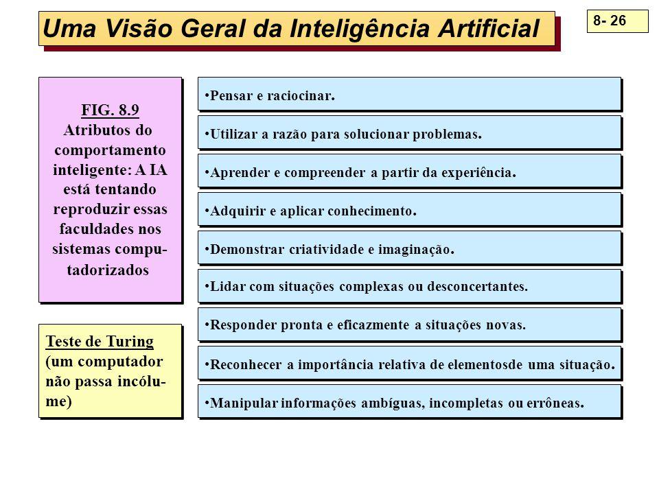 Uma Visão Geral da Inteligência Artificial