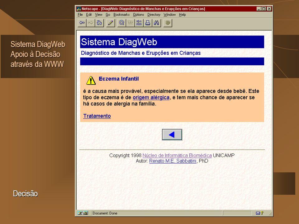Sistema DiagWeb Apoio à Decisão através da WWW