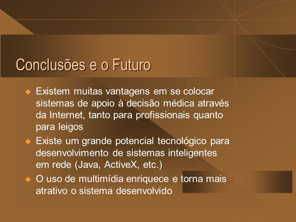 Conclusões e o Futuro